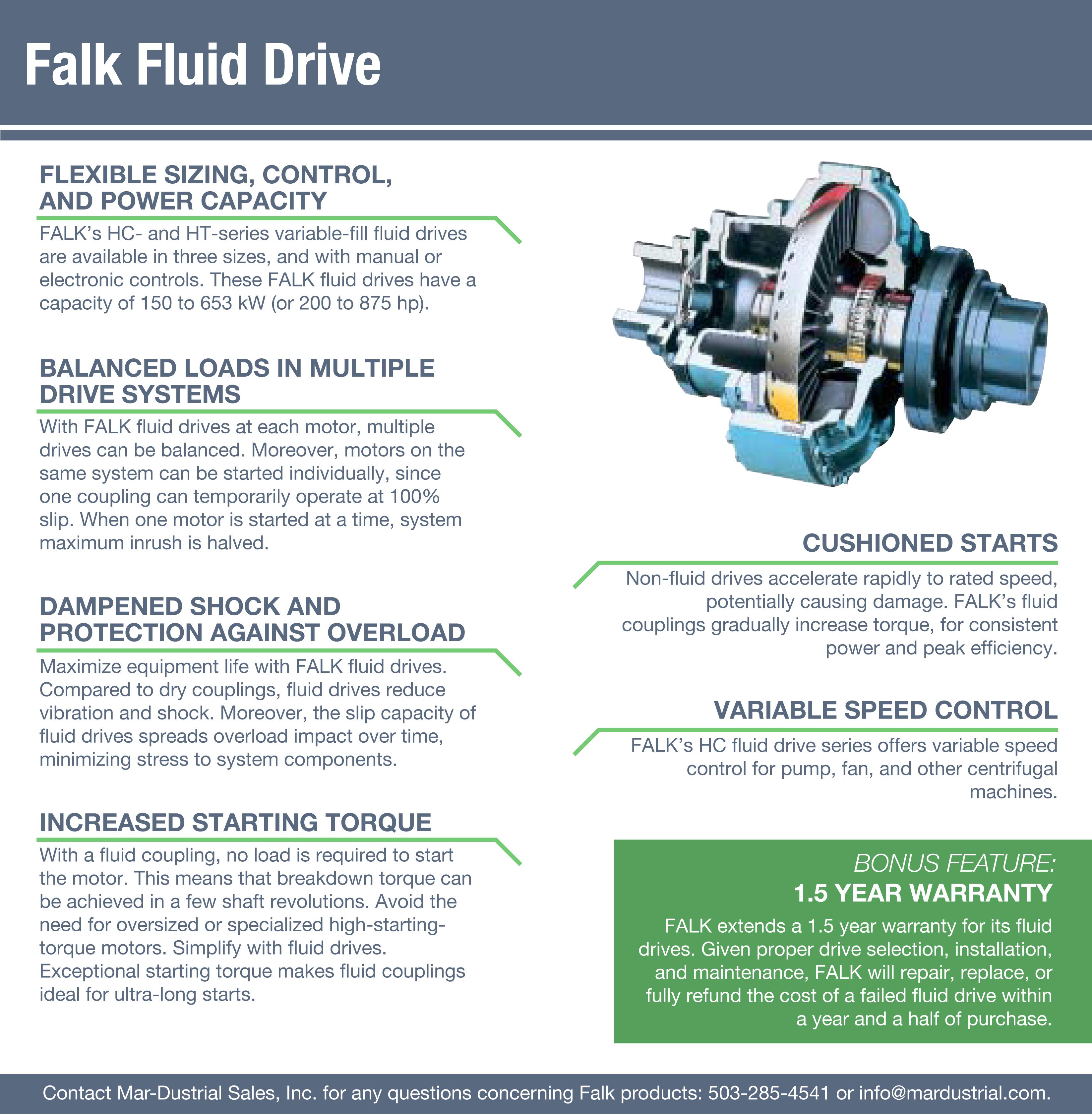 falk fluid drives